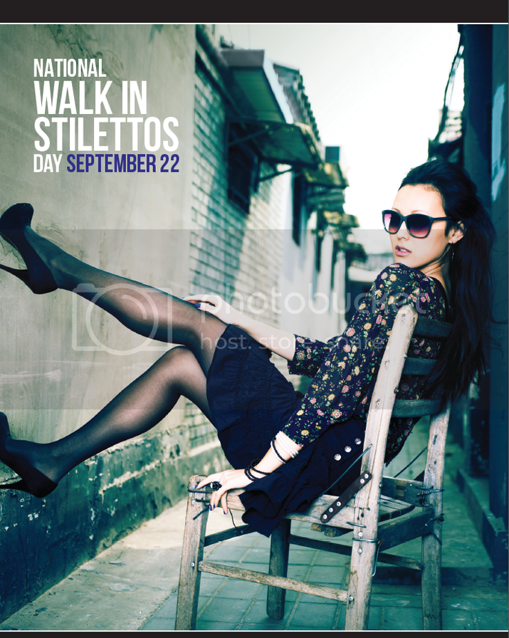 National WALK IN STILETTOS DAY September 22nd