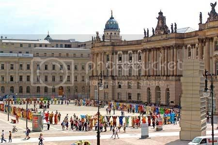The United Buddy Bears exhibition at Bebelplatz, Berlin-Mitte